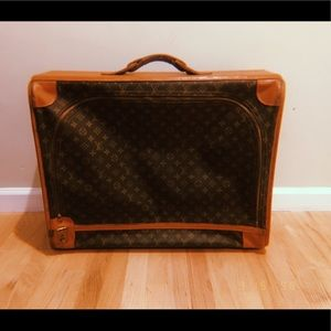 Vintage Louis Vuitton's suitcase